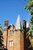 Byggnad för gammal skola, Coventry Arkivbilder