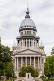 Byggnad för Illinois tillståndsKapitolium, Springfield royaltyfria foton
