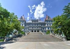 Byggnad för Kapitolium för New York stat, Albany Royaltyfri Foto