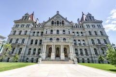Byggnad för Kapitolium för New York stat, Albany Fotografering för Bildbyråer