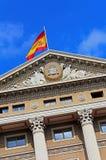 Byggnad för militär regering, Barcelona, Spanien arkivfoto