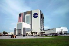 Byggnad för NASAmedelenhet Arkivbild