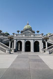 Byggnad för Pennsylvania statKapitolium i Harrisburg royaltyfri foto