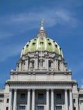 Byggnad för Pennsylvania statKapitolium i Harrisburg Fotografering för Bildbyråer