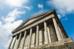 Byggnad för romersk stil Arkivbilder