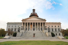Byggnad för South Carolina tillståndsCapital arkivbild