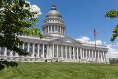 Byggnad för Utah statKapitolium, Salt Lake City Royaltyfri Fotografi
