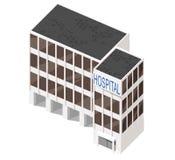 Byggnad för vektor 3d Arkivbild