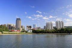 Byggnad för Xiamen tefabrik Fotografering för Bildbyråer