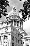 Byggnad f?r Texas tillst?ndsCapitol royaltyfria foton
