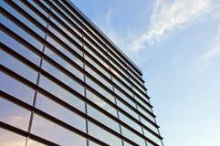 Byggnad från exponeringsglas Royaltyfria Foton