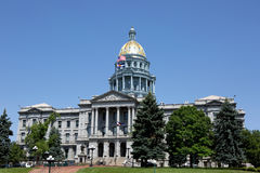 Byggnad för Colorado tillståndsCapitol Arkivfoto