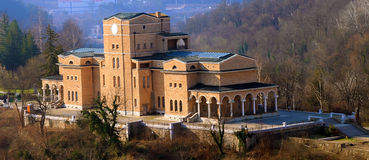 byggnad gammala bulgaria Arkivfoton