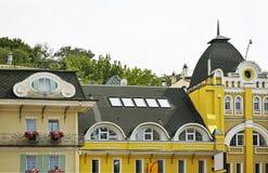 byggnad gammala kiev ukraine Royaltyfria Bilder