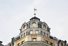 byggnad gammala kiev ukraine Arkivbild