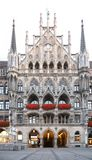 byggnad germany gotiska munich Arkivbilder