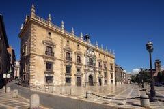 byggnad granada historiska spain Arkivbild