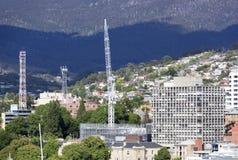 Byggnad Hobart Town Royaltyfri Bild