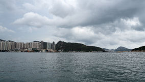 byggnad Hong Kong Arkivbild