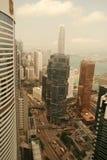byggnad Hong Kong Arkivfoton