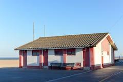 Byggnad i Aguda Arkivfoto