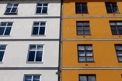 Byggnad i Bergen, Norge royaltyfria bilder