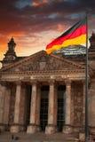 Byggnad i Berlin, Tyskland Arkivbild