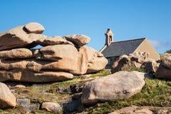 Byggnad i Brittany Royaltyfri Bild
