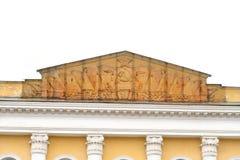 Byggnad i den centrala delen av Vologda Arkivbild