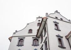 Byggnad i den gammala staden av St. Gallen Royaltyfria Foton