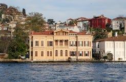 Byggnad i den Istanbul staden, Turkiet Arkivbild