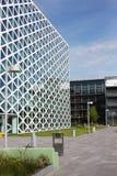 Byggnad X i den Windesheim universitetsområdet Royaltyfri Foto