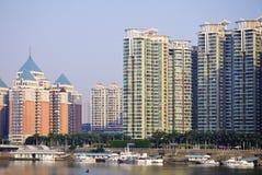 Byggnad i Fuzhou Kina Royaltyfri Bild