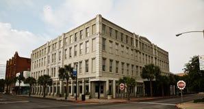 Byggnad i Galveston Texas Royaltyfri Bild