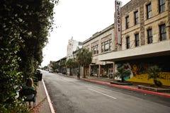 Byggnad i Galveston Texas Fotografering för Bildbyråer