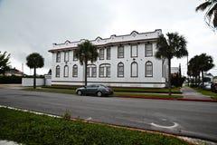 Byggnad i Galveston Texas Royaltyfri Foto