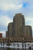 Byggnad i Grand Rapids MI Arkivbild
