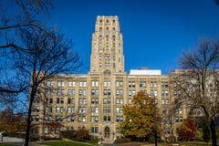Byggnad i i stadens centrum Toronto - Toronto, Ontario, Kanada Arkivfoton