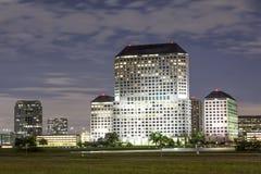 Byggnad i Irving, Texas Fotografering för Bildbyråer