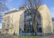 Byggnad i Krakow Royaltyfria Bilder
