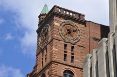 Byggnad i Montreal, Québec, Kanada arkivfoton