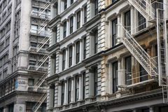 Byggnad i New York Arkivbild