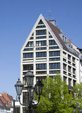 Byggnad i Nuremberg Royaltyfri Foto