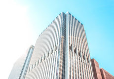 Byggnad i NY Arkivfoton