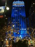 Byggnad i NYC Fotografering för Bildbyråer
