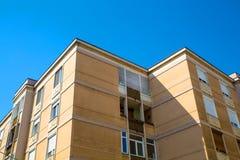 Byggnad i Oradea Arkivbilder