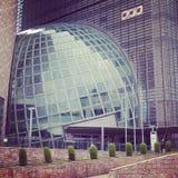 Byggnad i Osaka Arkivfoto