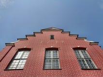 Byggnad i parkera Kuskovo arkivfoto