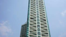 Byggnad i Pattaya Arkivbilder