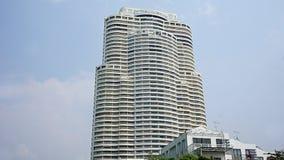 Byggnad i Pattaya Arkivfoton